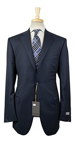 Canali 1934 Water Resistant Blue Wool 2 Button Suit for sale  Delivered anywhere in USA