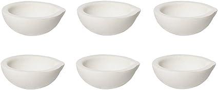 500 Gram Ceramic Alumina Crucible Dish Cup Melting Casting Refining Gold Silver
