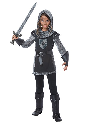Noble Warrior Costume Small (Girls Noble Knight Costume Small)