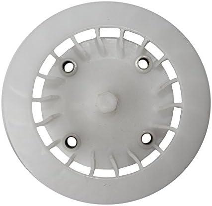 White Plastic Cooling Fan Blade Wheel for 150cc GY6 150 Scooter Moped ATV Quad Bike Go Kart