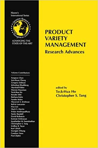 Book Product Variety Management: Research Advances (International Series in Operations Research & Management Science)