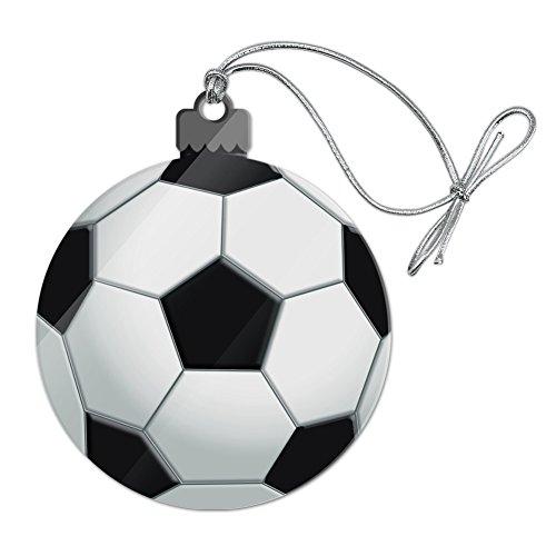 GRAPHICS & MORE Soccer Ball Football Acrylic Christmas Tree Holiday Ornament