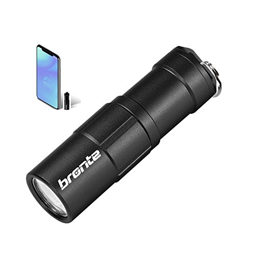 Rechargeable Pocket Keychain Flashlight Mini CREE LED Key Ring Light Small Compact Usb Torch Light 10180 Battery 130 Lumen 2 Modes,Waterproof Portable Tiny EDC Gadget For Emergency Camping Hiking