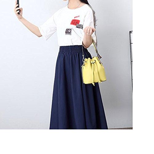 Main Sac bag Seau Sac Sac fashion Fée Petit Cuir Mini Été Sac Nouveau LF Bandoulière Sac Messenger à Féminin en à Cordon YqwR50y