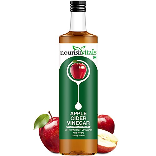 Nourish Vitals Apple Cider Vinegar 500ml - With Mother Vineg