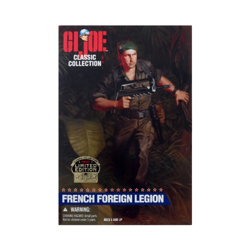 (GI Joe Classic Collection Limited Edition 1997 French Foreign Legion)