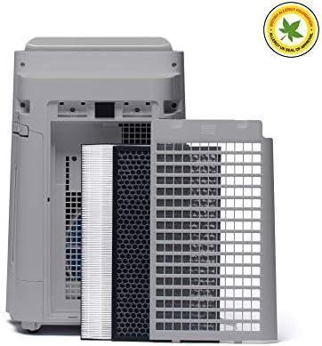 Sharp UA-HD40E-L Purificador de aire con tecnología Plasmacluster-Ion, función humificador, tres niveles de filtro ...