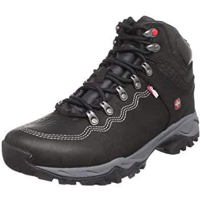 Mens Wenger Swiss Army Canyoneer, Color:Black, 12.5 D