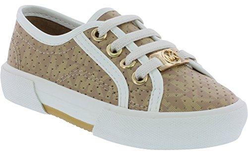 Michael Kors Ima Boerum Toddler Girls Sneakers Camel - Kors Toddler Michael