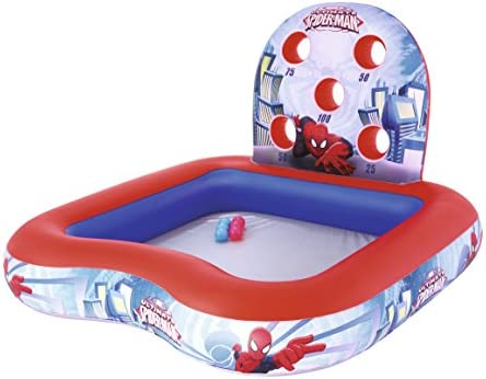 Piscina Hinchable Infantil de Juegos Bestway Spiderman 155x155x99 ...