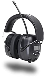 Ion Audio Tough Sounds Hearing Protection Headphones With Bluetooth & Radio
