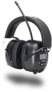 2. ION Audio Tough Sounds Hearing Protection Headphones (Bluetooth and Radio)