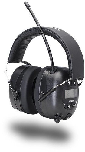 - ION Audio Tough Sounds Hearing Protection Headphones with Bluetooth and Radio