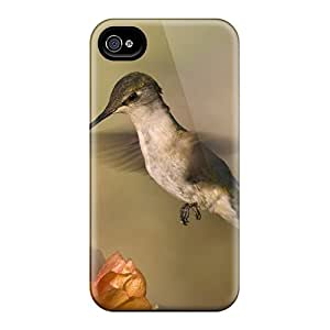 GoLoKfn-442 Case Cover Humingbird Iphone 4/4s Protective Case