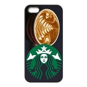 Starbucks iPhone 5 5s Cell Phone Case Black Vkoi