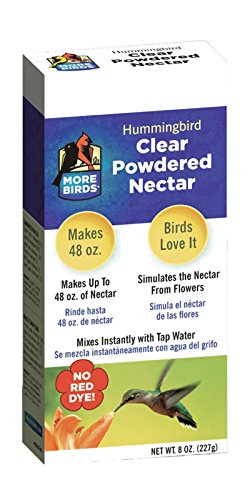 More Birds Clear Powdered Nectar for Hummingbirds, 8-Ounces by More Birds