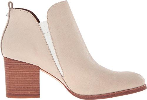 Donald J Pliner Mujeres Edyn Leather Round Toe Botines Botas De Moda Beige
