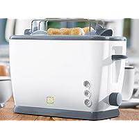 Doppleschlitztoaster, Toaster stufenlos einstellbar, mit Abtaufunktion