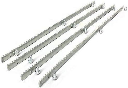 TABODD - Juego de 4 piezas de portaequipajes de metal de 12 mm de grosor y 1000 mm de grosor, accesorio para motor para abrir puertas correderas: Amazon.es: Bricolaje y herramientas