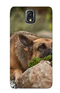 Awesome Design Animal German Shepherd Hard Case Cover For Galaxy Note 3(gift For Lovers)