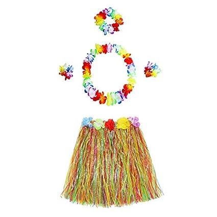 eb0f75c0c91 Amazon.com: Party Diy Decorations - Garland Bracelet Headband Flower ...