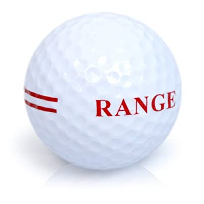Second Chance 48 2 Piece Range Golf Balls - White