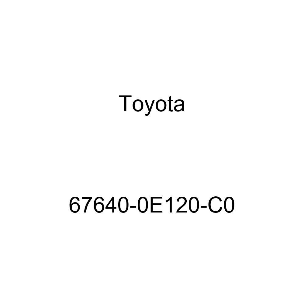 Genuine Toyota 67640-0E120-C0 Door Trim Board