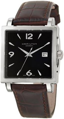 Amazon.com: Hamilton Jazz Master Square Men's Watch H32415535 ...