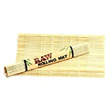 RAW® Rolling Mat 'Natural Bamboo '2 Mats' (for use w/ Rolling Papers)