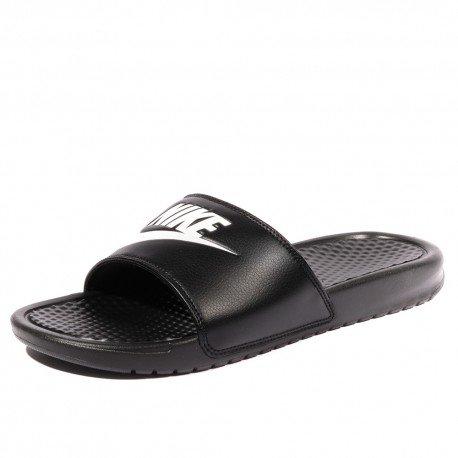 Nike Benassi JDI Homme Claquettes Noir