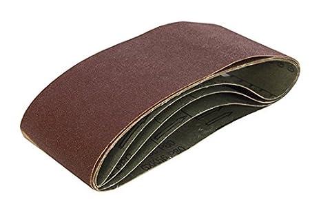 Triton TPTA12911426 75 x 480 mm 80 Grit Sanding Belt - Multi-Colour (Pack of 5)