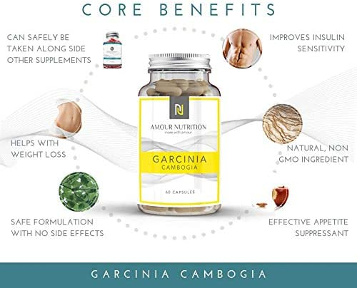 Garcinia Cambogia Powerful Weight Loss and Appetite Suppressant Suitable for Men and Women UK Made