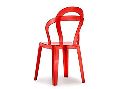 Sedie Di Plastica Trasparenti : Scab titi sedia in plastica policarbonato colore trasparente