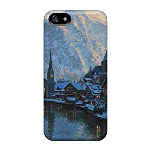 Tpu Fashionable Design Alps In Austria Rugged Case Cover For Iphone 5/5s New