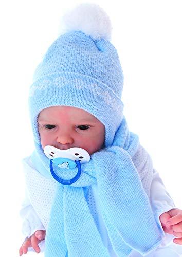 Sterntaler Mädchen Babymütze Erstlingsmütze  Herbst Winter Baby Mütze Haube