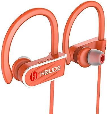 Auriculares Bluetooth HBUDS Bluetooth 4.1 Auriculares Deportivos ...