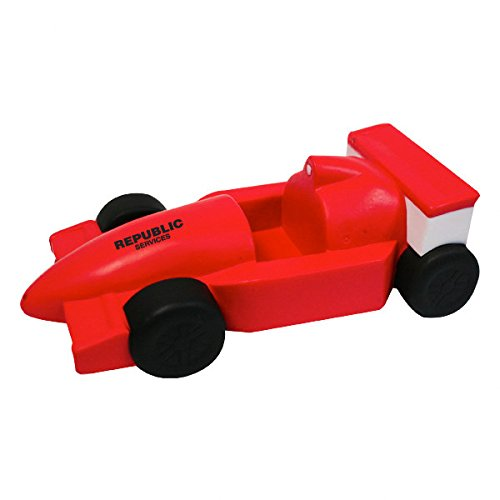 Indy Formula Race Car Style Stress Reliever Cell Phone Holder - Red - Promotional Product - Your Logo Imprinted (Case Pack 100)
