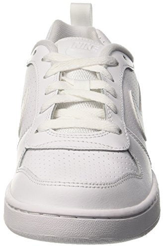 Basket White White GS Low Borough Court Scarpe Nike da Bambino AaYFZW