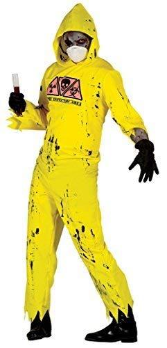 Fancy Me Disfraz de Halloween para Hombre, radiactivo ...