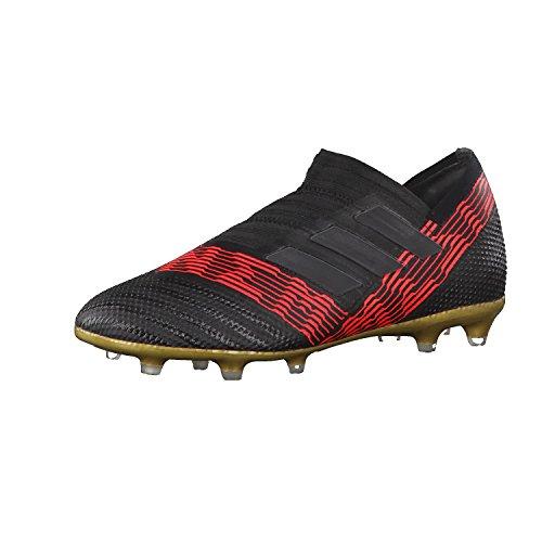 adidas Unisex-Kinder NEMEZIZ 17+ FG J Fußballschuhe Schwarz (Cblack/Cblack/Solred Cblack/Cblack/Solred)