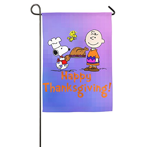 home-garden-flags-charlie-brown-snoopy-woodstock-thanksgiving-day