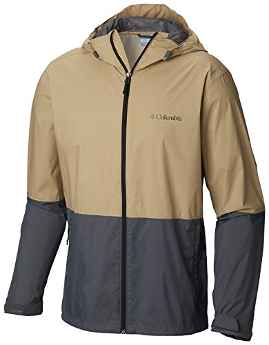 Columbia Men's Roan Mountain Jacket, Beach, Graphite XL