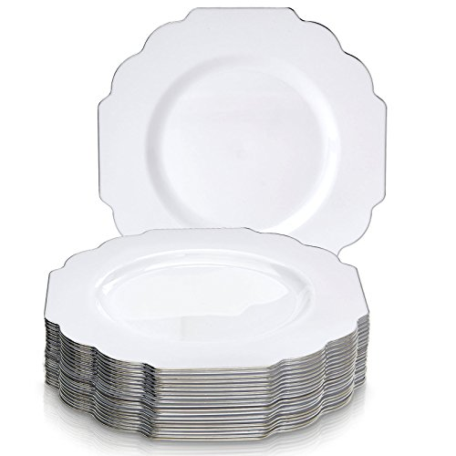 """10.75"""" Disposable Dinnerware Plates 