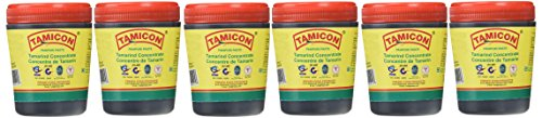Tamicon Tamarind Paste, 8-Ounce Unit (Pack of 6) - Tamicon Tamarind Paste