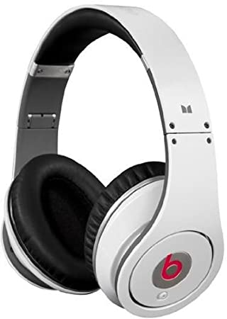 Beats by Dr. Dre Studio Over-Ear Headphones - White  Amazon.co.uk ... 7d4ca3bc4