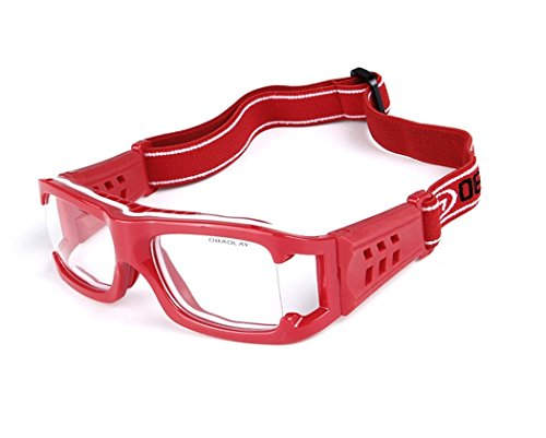 Wonzone Sports Goggles Safty Glasses Eyewear For Adults With Adjustable Strap for Basketball Football Volleyball Hockey Paintball and More -