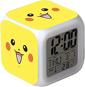 Pokemon Anime Pikachu leuchtende LED Farbwechsel Digital