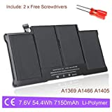 A1496 A1405 A1377 Laptop Battery Replacement for