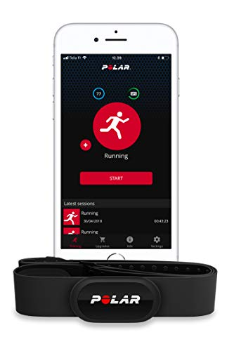 Polar H10 Heart Rate Monitor for Men and Women - ANT +, Bluetooth, ECG/EKG - Waterproof HR Sensor with Chest Strap