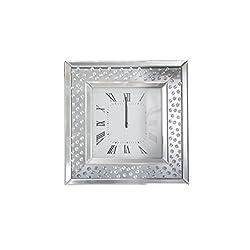 Acme Furniture 97394 Nysa Wall Clock, Mirrored